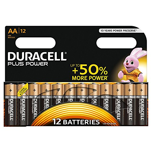 duracell plus power typ aaa alkaline batterien 18er pack. Black Bedroom Furniture Sets. Home Design Ideas