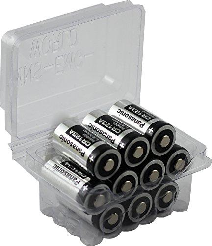ravpower cr123a 3v lithium batterien 16 pack 1500mah jeweils 10 jahre haltbarkeitsdauer f r. Black Bedroom Furniture Sets. Home Design Ideas