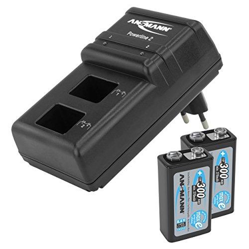 ansmann batteriebox f r 9v block akkus und batterien praktische akkubox zum schutz transport. Black Bedroom Furniture Sets. Home Design Ideas